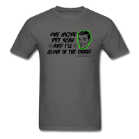 One More PET Scan Men's T-Shirt (Guy Design) - Funny Cancer Shirts
