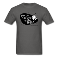 I've got Cancer by the Balls Men's T-Shirt [product type] - Funny Cancer T Shirts and Chemo Gifts