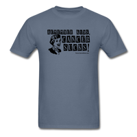 Remember Kids, Cancer Sucks Men's T-Shirt [product type] - Funny Cancer T Shirts and Chemo Gifts