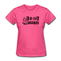 F#@K Cancer Women's T-Shirt - Funny Cancer Shirts
