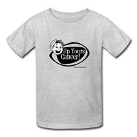 Up Yours Cancer Kids' T-Shirt [product type] - Funny Cancer T Shirts and Chemo Gifts