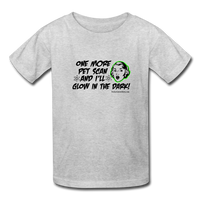 One More PET Scan Kids' T-Shirt (Girl) - Funny Cancer Shirts