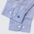 Blue Sparkle Pattern Shirt