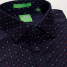 Navy Anchor Printed Shirt