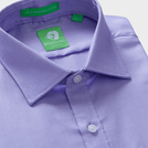 Premium Purple Micro Pattern Shirt