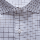 Beige Classic Check Textured Shirt