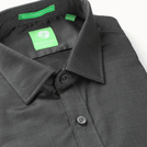 Premium Dark Grey Festive Solid Shirt