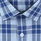 Blue Amsler Check Shirt