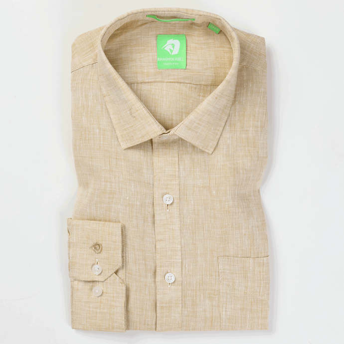 Natural Linen Solid Shirt