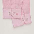 Light Pink Linen Solid Shirt