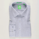 Light Grey Linen Solid Shirt