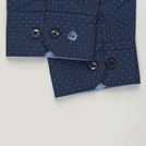 Navy Diamond Printed Shirt
