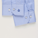 Light Blue Micro Dobby Shirt