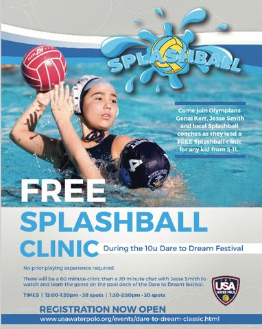 USAWP Splashball Clinic
