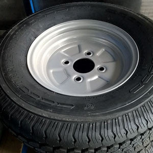 Viper Trailer Spare Tire with Wheel