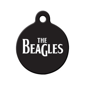 The Beagles Circle Pet ID Tag