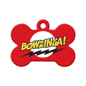 Bowzinga Bone Pet ID Tag