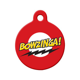 Bowzinga Circle Pet ID Tag