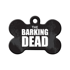 The Barking Dead Bone Pet ID Tag