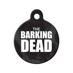 The Barking Dead Swing Circle Pet ID Tag