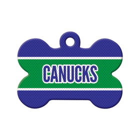 Hockey Jersey Bone Pet ID Tag