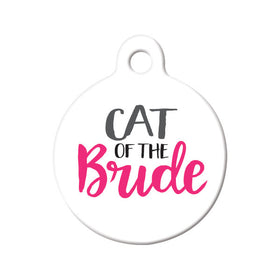 Cat of the Bride Circle Pet ID Tag