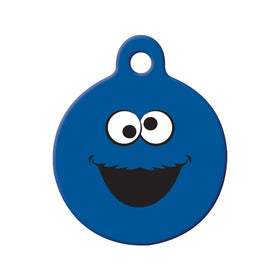 Cookie Monster Fan Art Circle Pet ID Tag