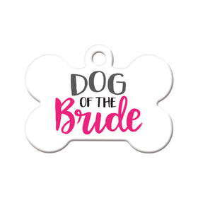 Dog of the Bride Bone Pet ID Tag