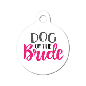 Dog of the Bride Circle Pet ID Tag