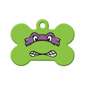 Donatello TMNT Fan Art  Bone Pet ID Tag