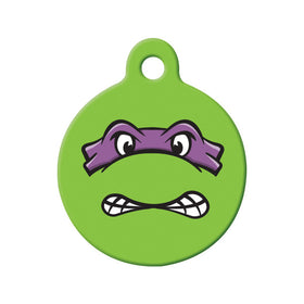 Donatello TMNT Fan Art  Circle Pet ID Tag