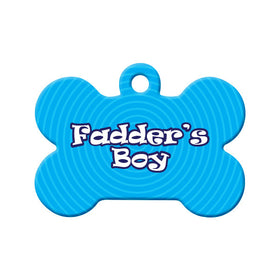 Newfoundland Fadder's Boy Bone Pet ID Tag