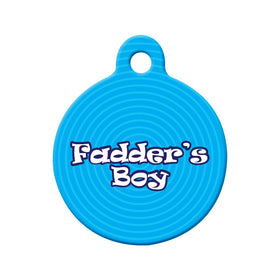 Newfoundland Fadder's Boy Circle Pet ID Tag