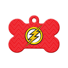The Flash Fan Art Bone Pet ID Tag