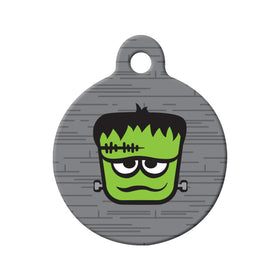 Frankenstein Circle Pet ID Tag
