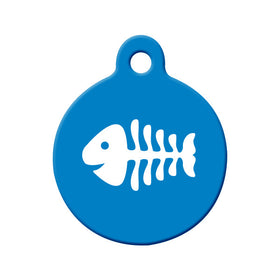 Fish Bone for Cat's Bone Pet ID Tag