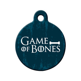 Games of Bones Circle Pet ID Tag