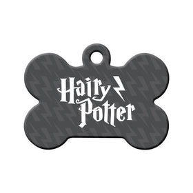 Hairy' Potter Bone Pet ID Tag