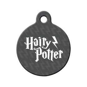 Hairy' Potter Circle Pet ID Tag