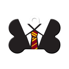Gryffindor Uniform Bone Pet ID Tag