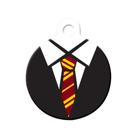 Gryffindor Uniform Circle Pet ID Tag