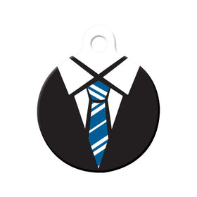 Ravenclaw Uniform Circle Pet ID Tag