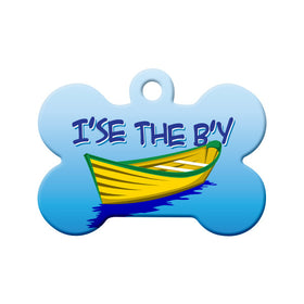 I'se the B'y Newfoundland Saying Bone Pet ID Tag