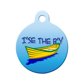 I'se the B'y Newfoundland Saying Circle Pet ID Tag