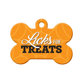 Licks for Treats Pet ID Tag