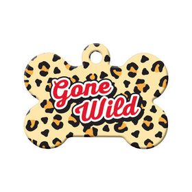 Gone Wild Bone Pet ID Tag
