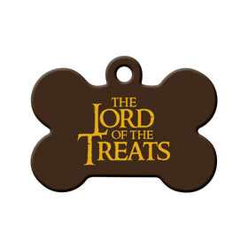 The Lord of the Treats Bone Pet ID Tag