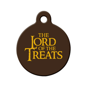 The Lord of the Treats Circle Pet ID Tag