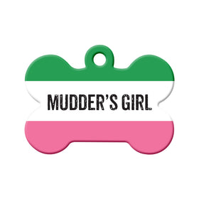 Mudder's Girl Republic of NL Bone Pet ID Tag