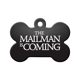 The Mailman is Coming (GOT) Bone Pet ID Tag